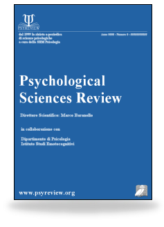 Psyreview Psychological Sciences Review